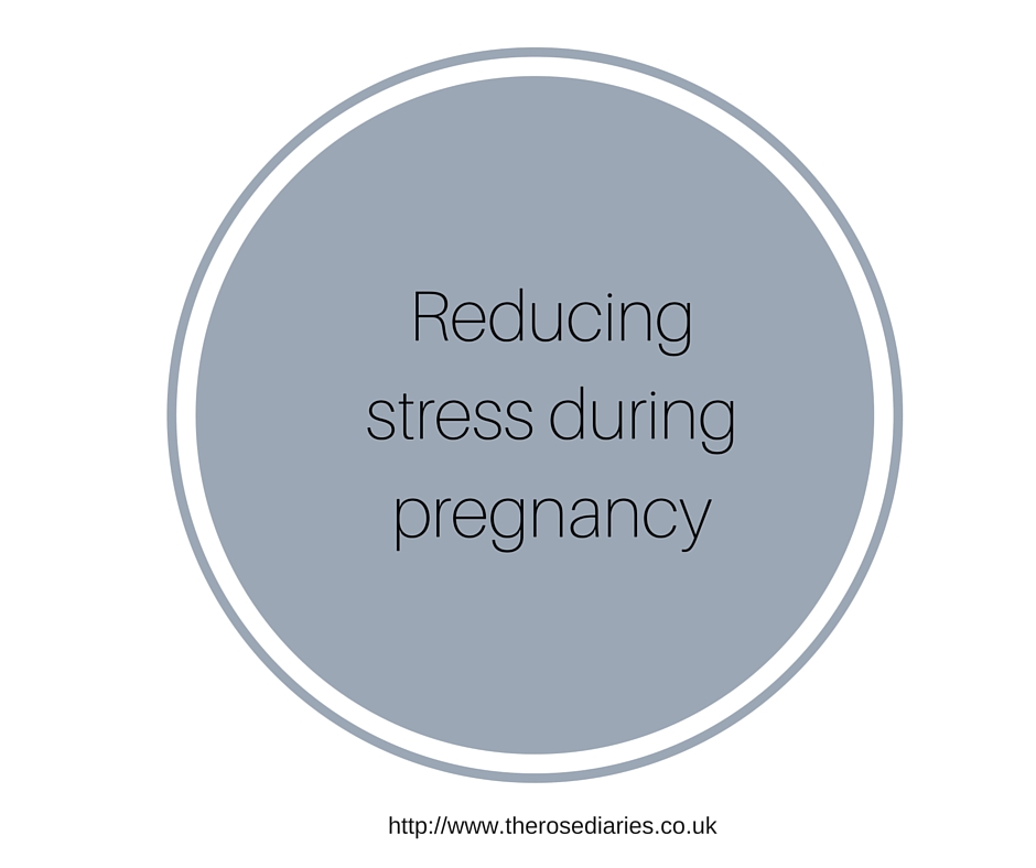 Reducing stress in pregnancy