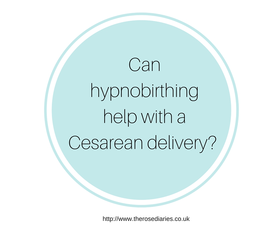 Can hypnobirthing help with a Cesarean delivery-
