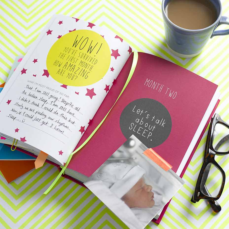 The New Mums Notebook styling